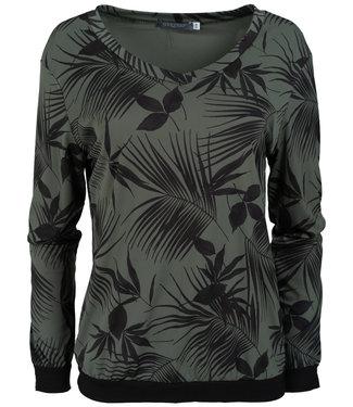 Gemma Ricceri Shirt groen/zwart Chantal