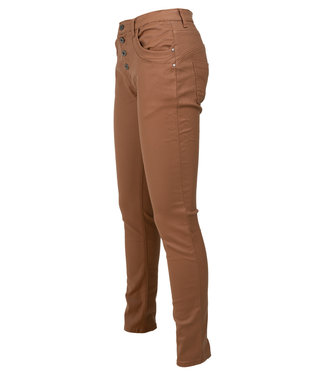 place du Jour Broek camel leather look Emely