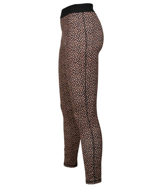 Rebelz Collection Legging bruin stip Lucy