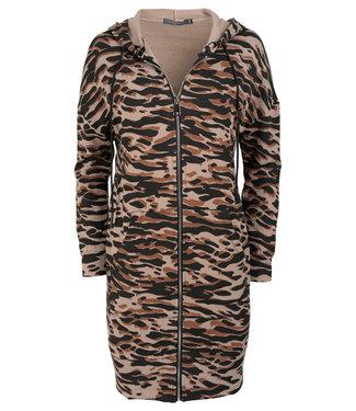 Gemma Ricceri Vest beige/zwart Marley