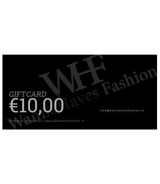 Wannahavesfashion WHF giftcard €10