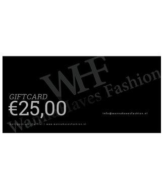 Wannahavesfashion WHF giftcard €25