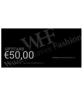 Wannahavesfashion WHF giftcard €50