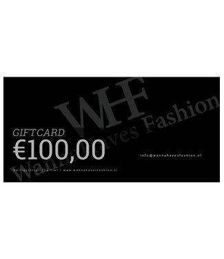 Wannahavesfashion WHF giftcard €100