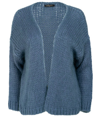 Gemma Ricceri Vest blauw Tanja