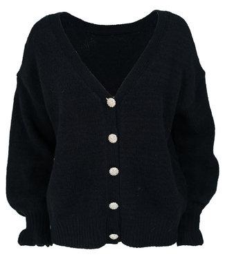 Azzurro Vest zwart reversible Bonny