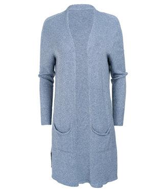 Gemma Ricceri Vest blauw Soof