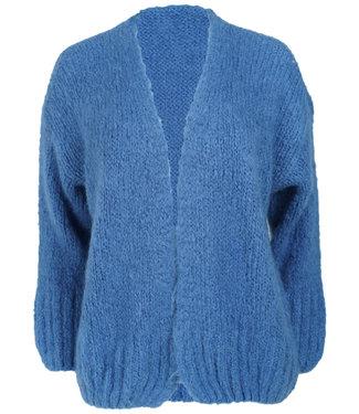 Wannahavesfashion Vest jeansblauw Anouk