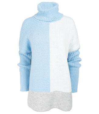 Gemma Ricceri Trui blauw/grijs Sandy
