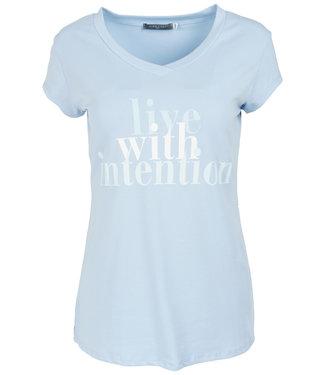 Gemma Ricceri Shirt lichtblauw intention