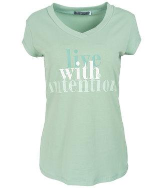 Gemma Ricceri Shirt lichtgroen intention