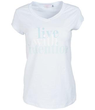 Gemma Ricceri Shirt wit/blauw intention