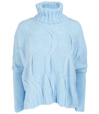 Wannahavesfashion Trui blauw Tracy