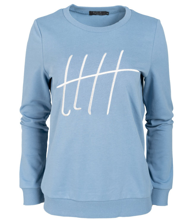 Rebelz Collection Sweater blauw Monica