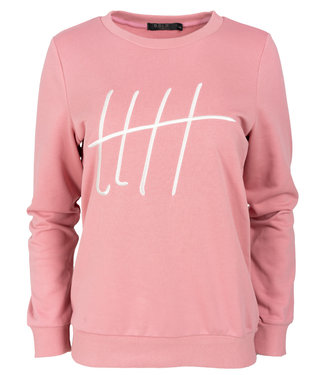 Rebelz Collection Sweater roze Monica
