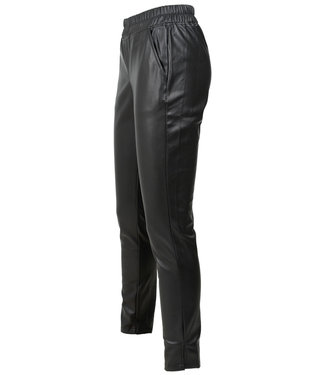 Rebelz Collection Broek zwart leather look Evi