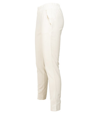 Rebelz Collection Broek off-white leather look Evi