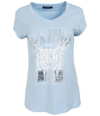 Gemma Ricceri Shirt blauw/wit wild Spirit
