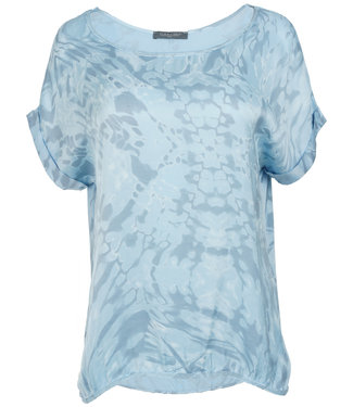 Gemma Ricceri Shirt lichtblauw silk touch Bo