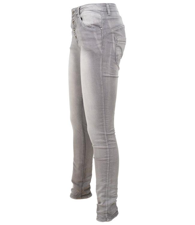 place du Jour Jog jeans grey used -N