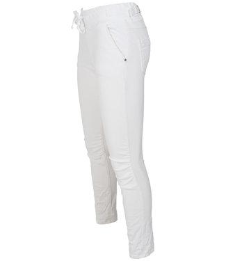 Melly&Co jog jeans wit Mc