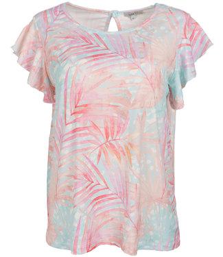 Gemma Ricceri Shirt mintgroen/roze Selina