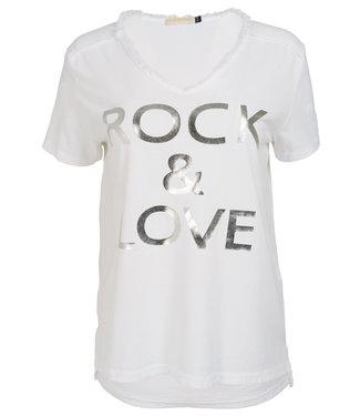 Gemma Ricceri Shirt wit Rock love