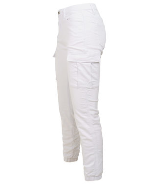 Wannahavesfashion Broek worker wit Storm