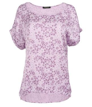 Gemma Ricceri Shirt lila silk touch Fiep