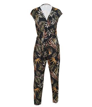 Gemma Ricceri Jumpsuit zwart print Elle