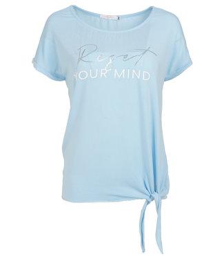 Gemma Ricceri Shirt lichtblauw tencel Riva