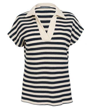 Gemma Ricceri Shirt donkerblauw streep Filou