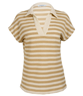 Gemma Ricceri Shirt beige streep Filou