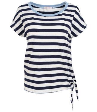 Gemma Ricceri Shirt blauw streep Meggie