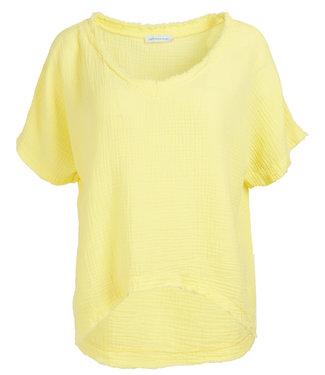 Azzurro Shirt geel Trudy