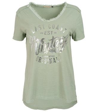 Gemma Ricceri Shirt legergroen vintage Ida
