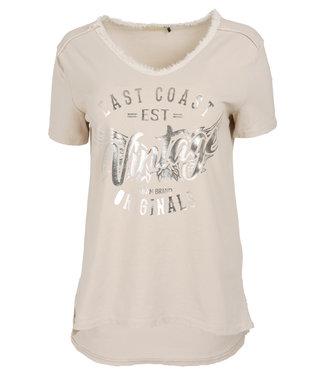 Gemma Ricceri Shirt beige vintage Ida