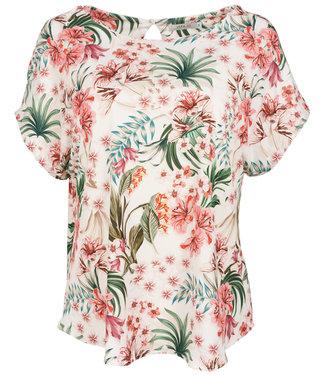 Vera Jo Shirt wit/roze Annemijn