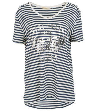 Gemma Ricceri Shirt blauw streep Ank