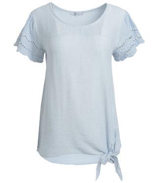 Gemma Ricceri Shirt lichtblauw Isabelle