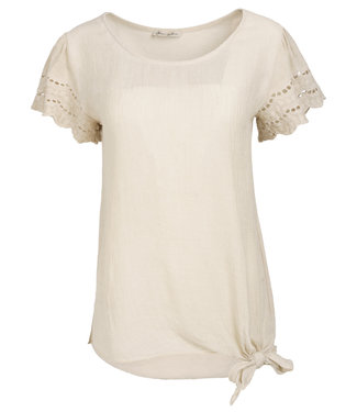 Gemma Ricceri Shirt beige Isabelle