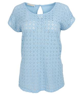 Gemma Ricceri Shirt lichtblauw Kirsten