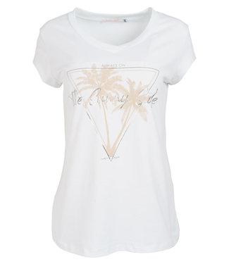Gemma Ricceri Shirt wit/beige Sunny