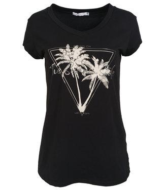 Gemma Ricceri Shirt zwart/beige sunny