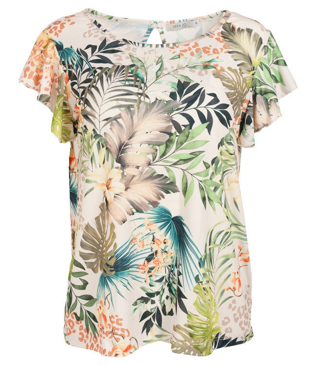 Vera Jo Shirt wit print Mieke