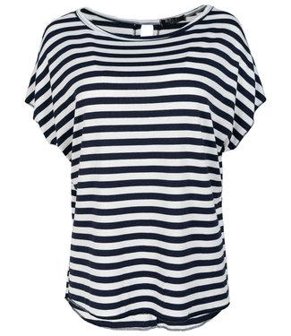 Rebelz Collection Shirt  blauw/wit streep Tine