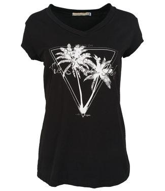 Gemma Ricceri Shirt zwart/wit Sunny
