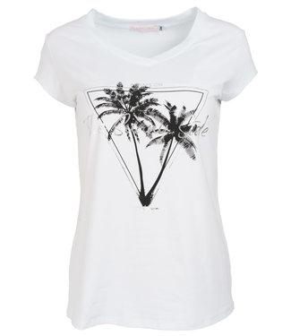 Gemma Ricceri Shirt wit/zwart Sunny