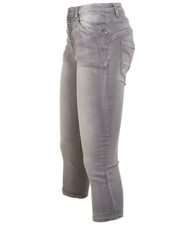 place du Jour Jog jeans capri grey Manon