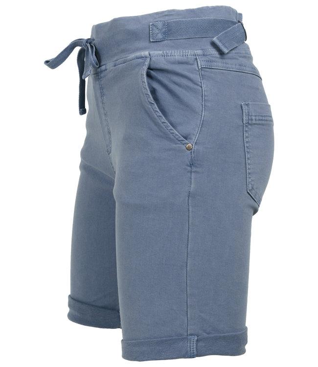 Melly&Co Korte broek jeansblauw Mc